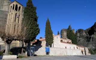 Византийская церковь: Метеоры, Тамплиеры и скрытые символы