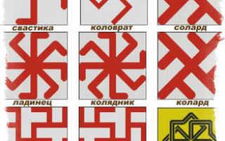 Руны и священные символы