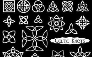 Значения кельтского узла: дизайнерские идеи и вдохновение